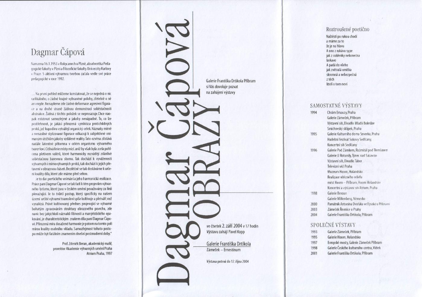 Dagmar Čápová - Obrazy