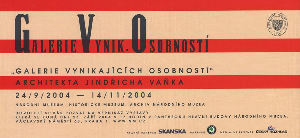 Architekt Jindřich Vaněk