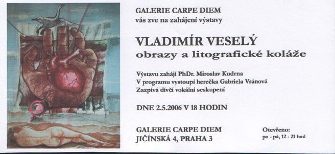 Výstava Vladimíra Veselého