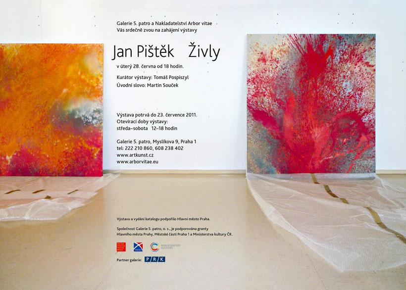 Výstava Jana Pištěka