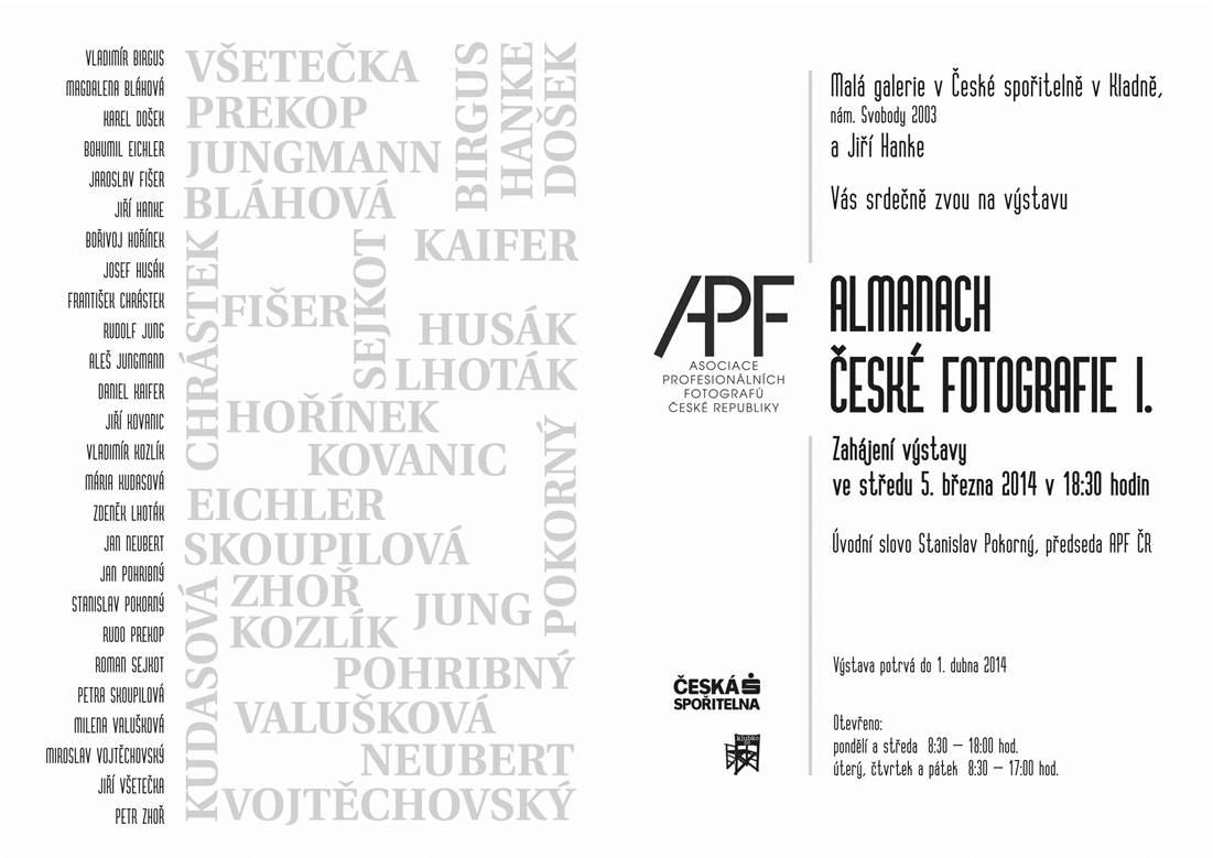 Almanach české fotografie I.