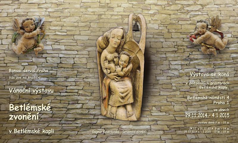 Vernisáž vánoční výstavy v Betlémské kapli