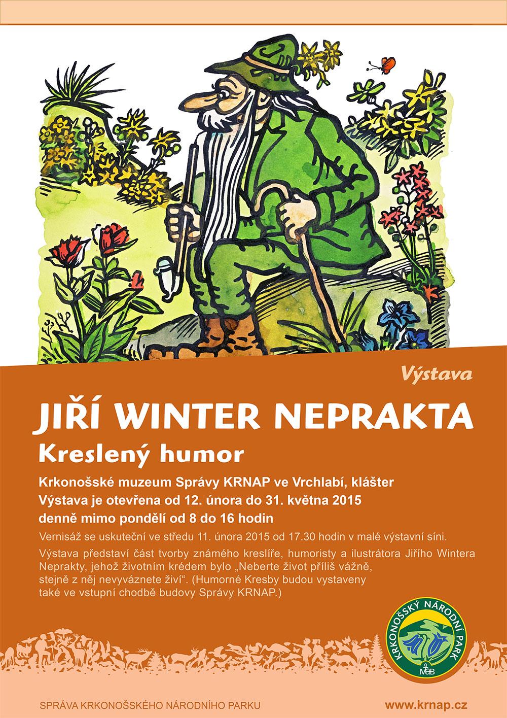 Jiří Winter Neprakta - Kreslený humor
