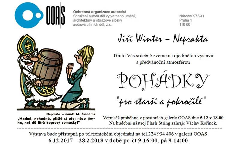 Jiří Winter – Neprakta: Pohádky pro starší a pokročilé