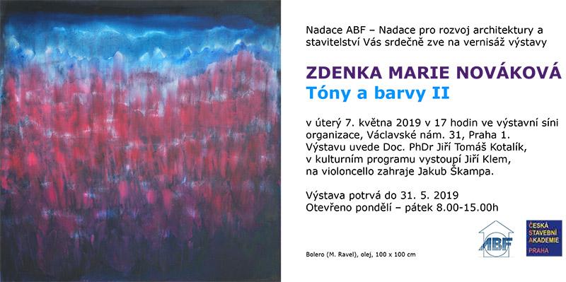 Zdenka Marie Nováková: Tóny a barvy II