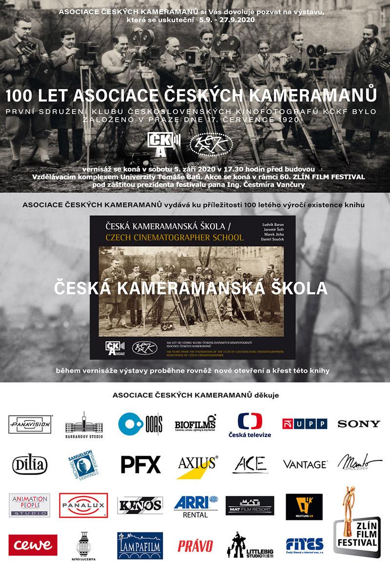 Vernisáž fotografické výstavy 100. let Asociace českých kameramanů